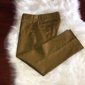 j. crew stretch city fit pants green size 0 petite